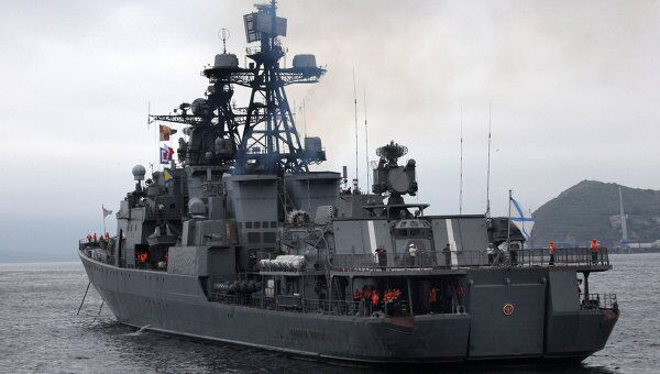 Отряд кораблей ТОФ