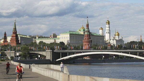 Вид на Кремль. Архив