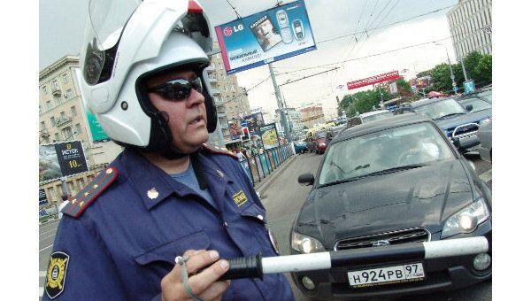 Регулировщик на автодорогах в Москве