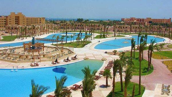 Отель Piramisa Blue Lagoon на египетском курорте Хургада, где произошло нападение на россиянку