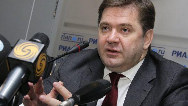 Министр энергетики Российской Федерации Сергей Шматко. Архив