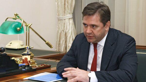 Министр энергетики РФ С. Шматко. Архив.