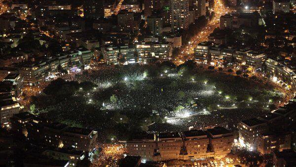 Демонстрации в Израиле 04 сентября 2011 года