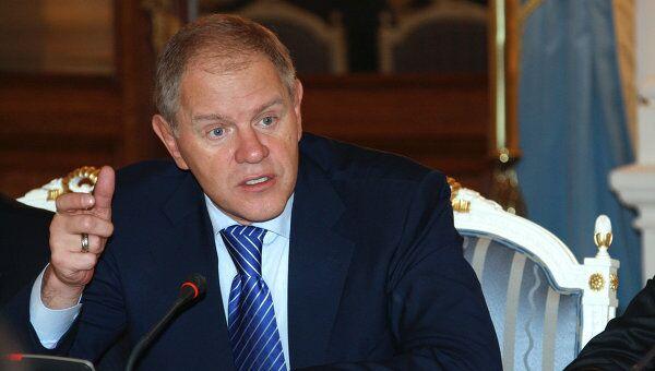 Руководитель Федерального агентства по рыболовству РФ Андрей Крайний
