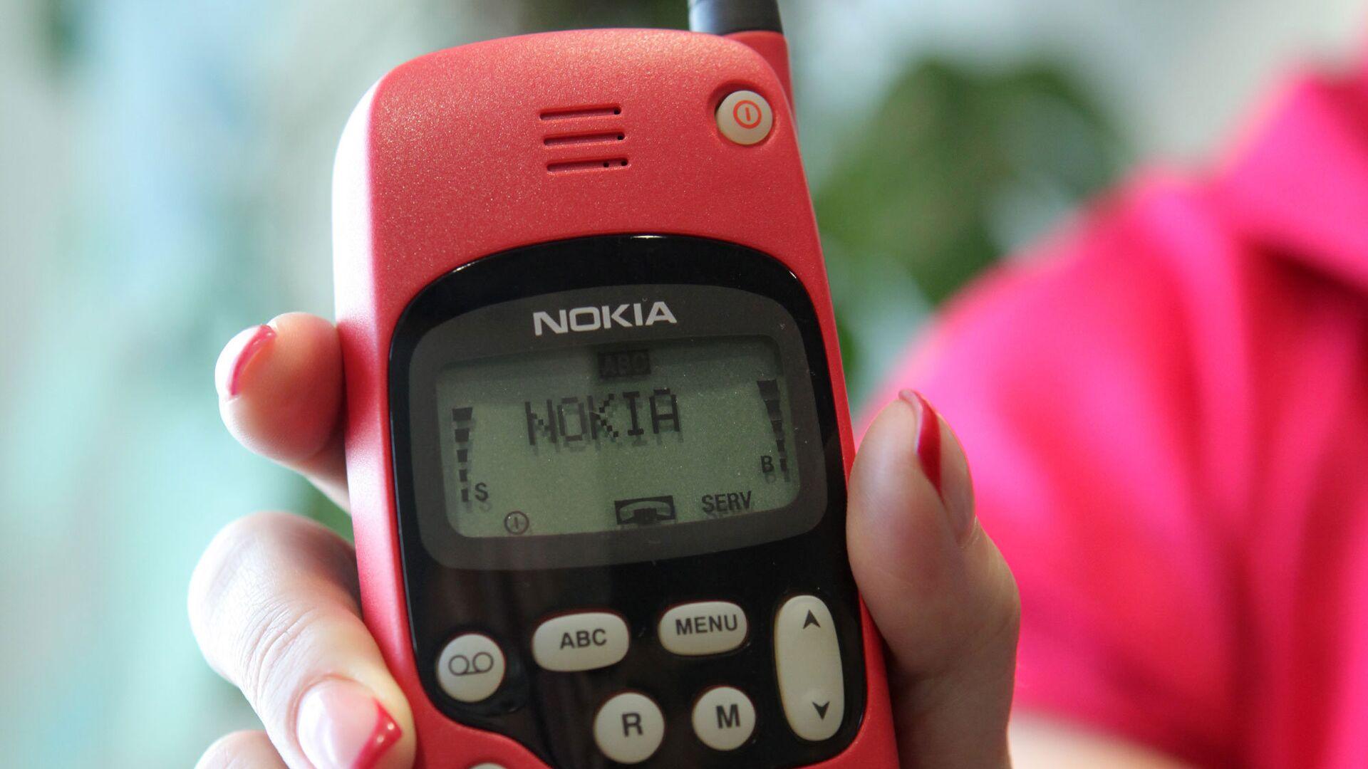 Сотовый телефон Nokia из коллекции МТС - РИА Новости, 1920, 06.11.2020