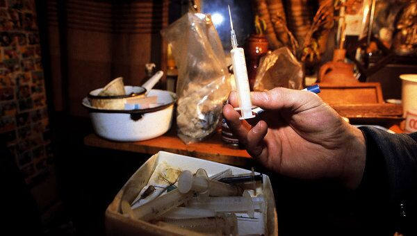 Притон наркоманов. Архив