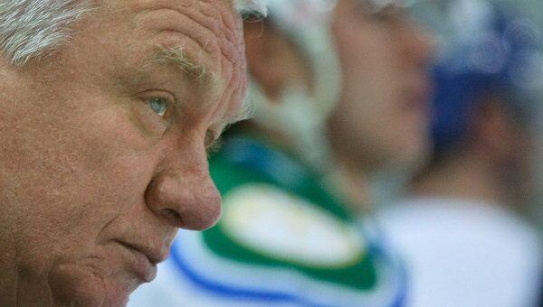 Главный тренер Салавата Юлаева Сергей Михалев. Архивное фото