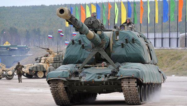 Российская выставка вооружения. Архивное фото