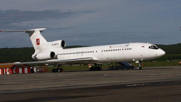 Самолет Ту-154м авиакомпании Москва (ранее - Атлант-Союз)
