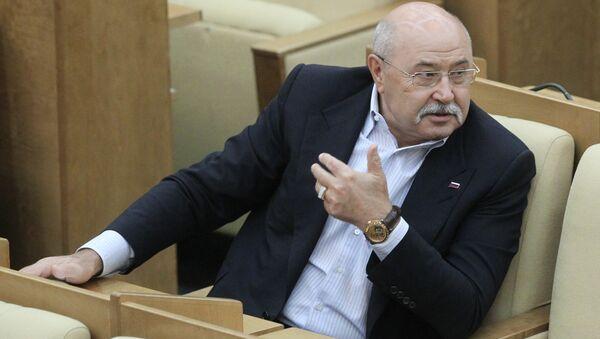 Заместитель председателя комитета ГД по экономической политике и предпринимательству Борис Зубицкий. Архив