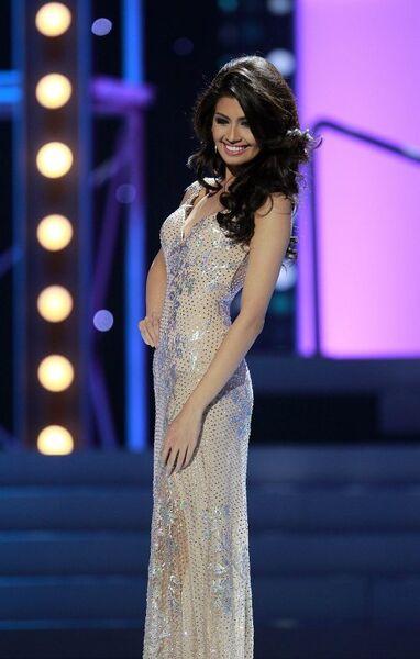 Третья вице-мисс конкурса Мисс Вселенная 2011 филиппинка Шемпси Сапсап