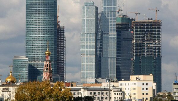 Деловой центр Москва-Сити. Архив