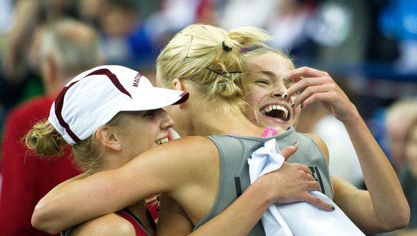 Спортсменки сборной Венгии