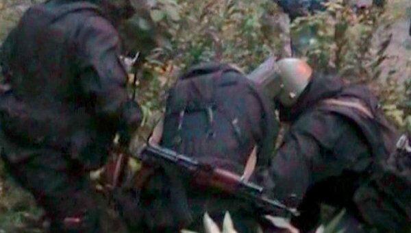 Задержание подозреваемых в убийстве инкассаторов. Оперативное видео