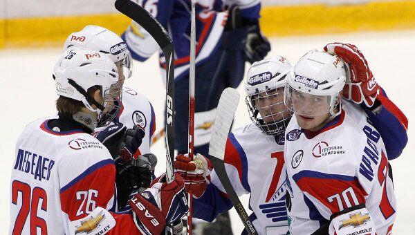 Хоккеисты Локо