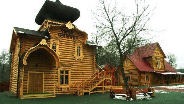 Московская усадьба Деда Мороза в Кузьминском парке