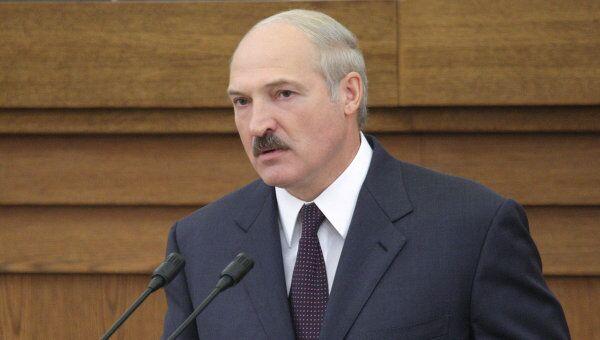 Президент Белоруссии Александра Лукашенко. Архив