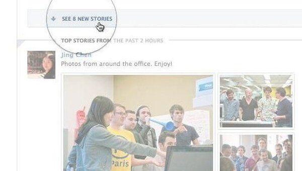 Facebook добавила в ленту новостей метки Top Story