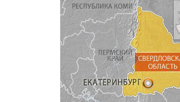 Карта Екатиринбурга