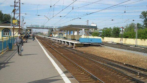 Железнодорожная станция Щербинка