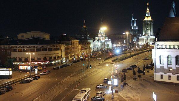 Подозрительная машина обнаружена у Ярославского вокзала