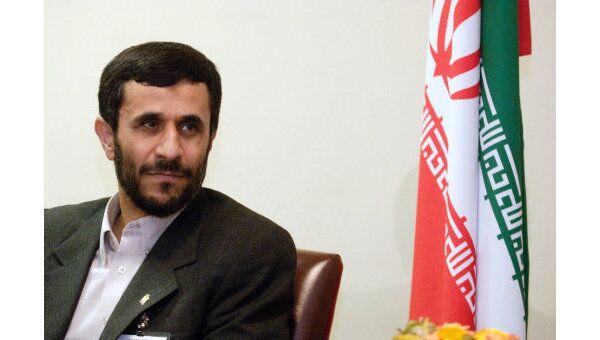 ЕК отказалась поздравить Ахмадинежада со вступлением в должность