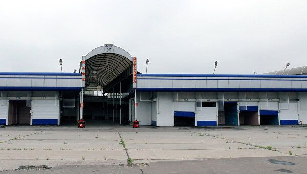 Территория бывшего Черкизовского рынка в Москве