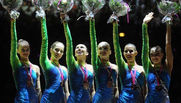 Сборная России по художественной гимнастике выиграла ЧМ