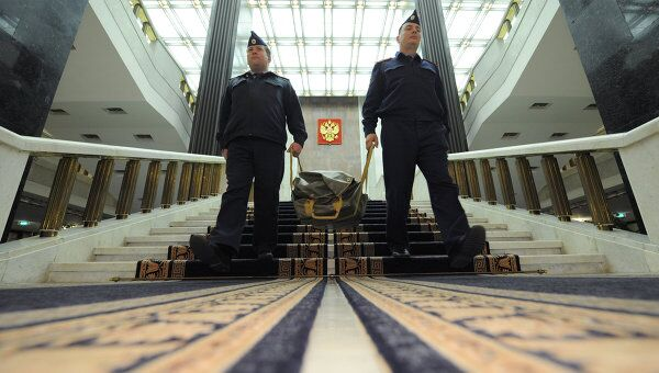 Бюджет на 2012-2014 гг переправлен из правительства РФ в Госдуму