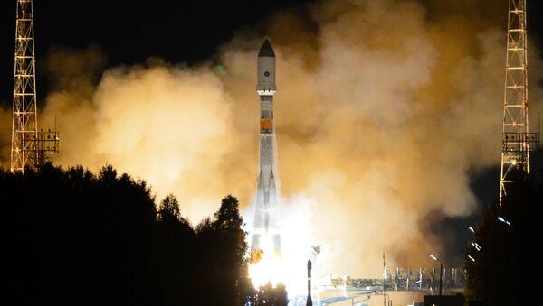 Старт ракеты-носителя с космодрома Плесецк. Архивное фото