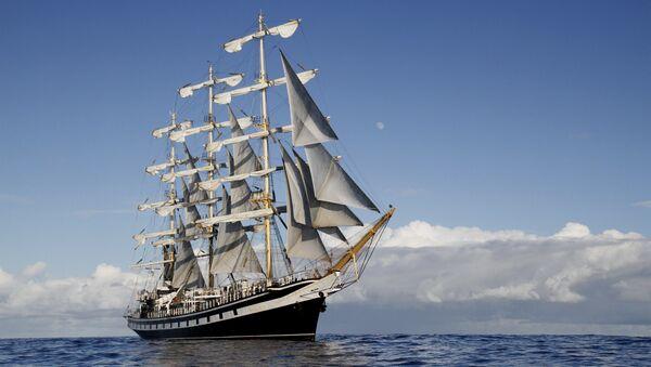 Российский фрегат «Паллада» завершает экспедицию по Тихому океану