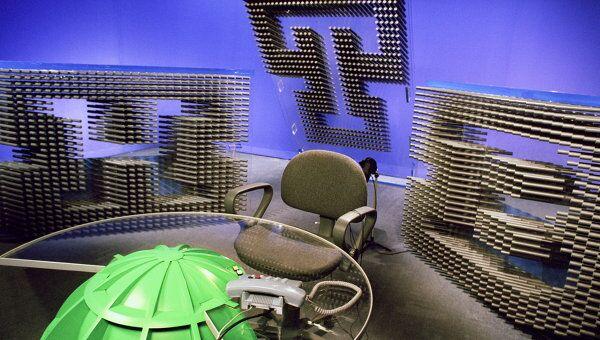 Студия телекомпании НТВ. Архивное фото
