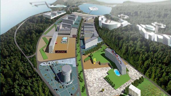 Проект будущей игорной зоны в Приморье. Архивное фото