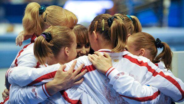 Российские гимнастки. Архив