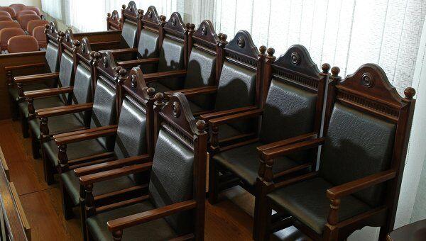Скамья присяжных заседателей
