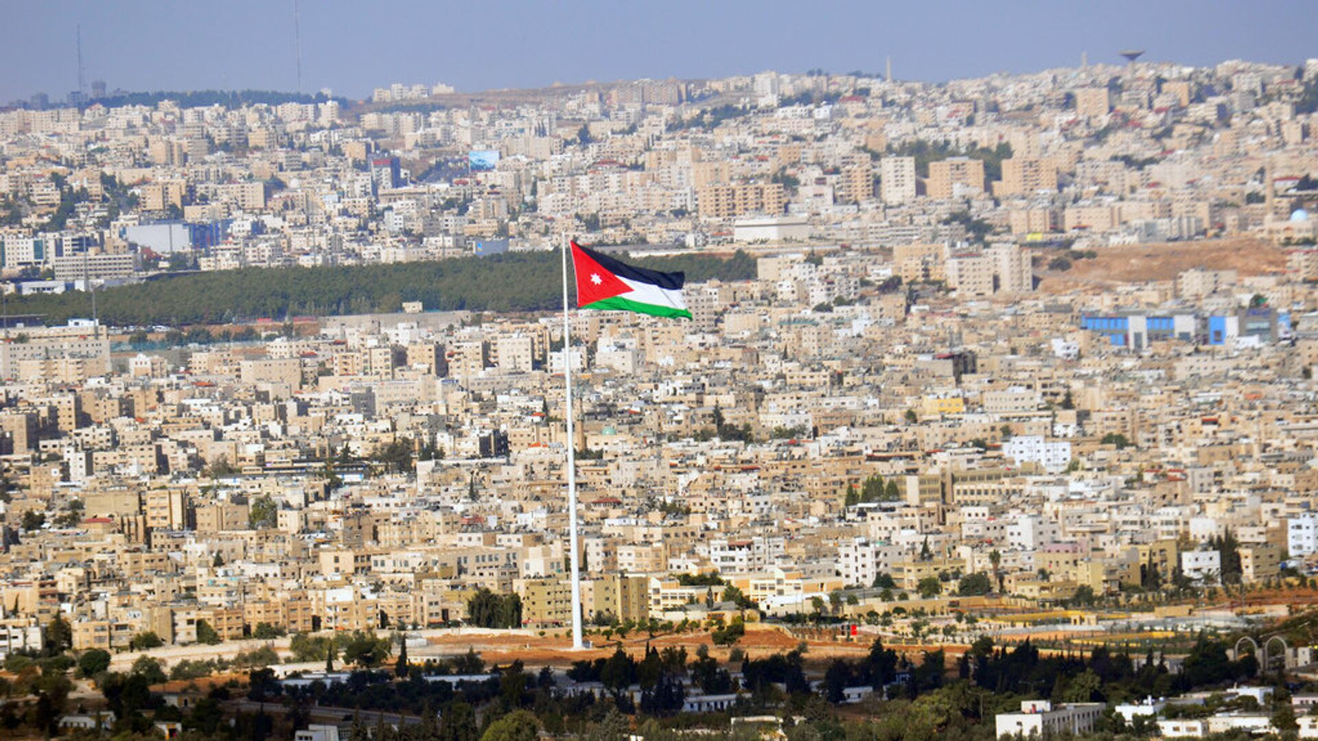 Вид на столицу Иордании Амман - РИА Новости, 1920, 14.09.2020