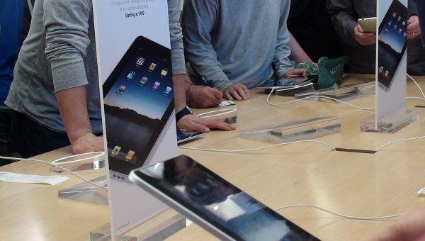В США начались продажи iPad