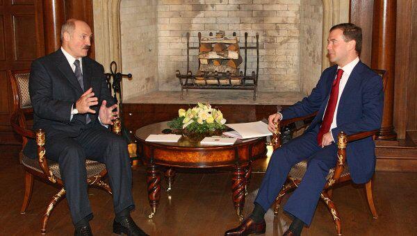 Медведев - РФ и Белоруссия многого добились в экономической интеграции