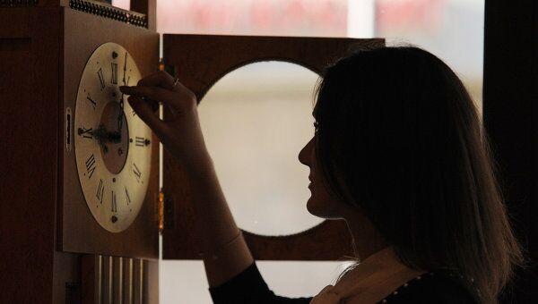Перевод часов на зимнее время. Архив