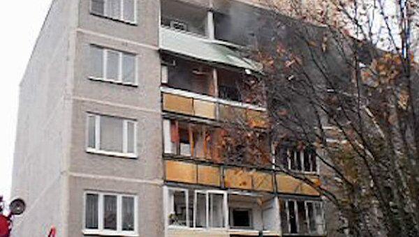 Последствия взрыва бытового газа в Бронницах. Видео с места ЧП