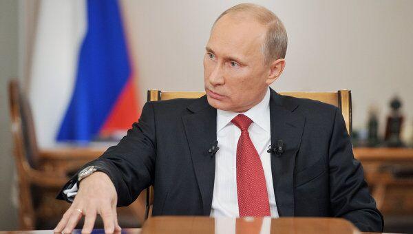 Путин: Киеву надо избавиться от фобий и подсчитать выгоду от ТС