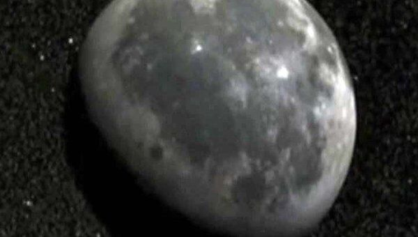 Снимки участков Луны, где нашли залежи титана