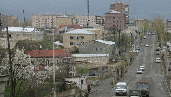 Город Степанакерт, архивное фото