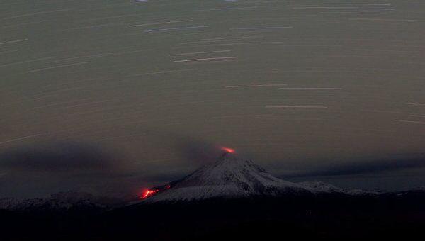 Извержение вулкана Кизимен