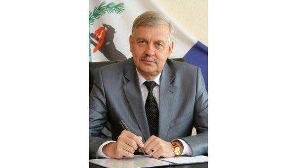 Мэр Братска Александр Серов. Архив