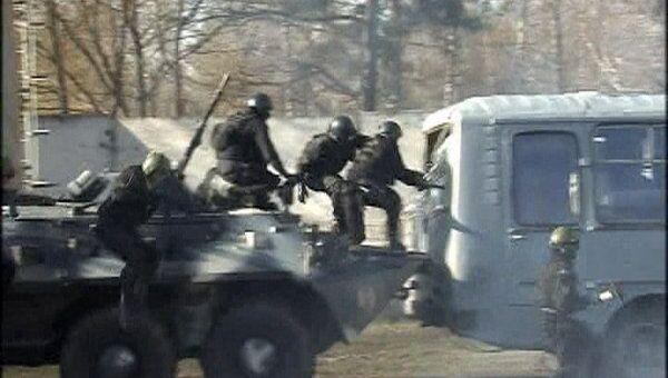 Тверской спецназ победил всех врагов перед Дмитрием Медведевым