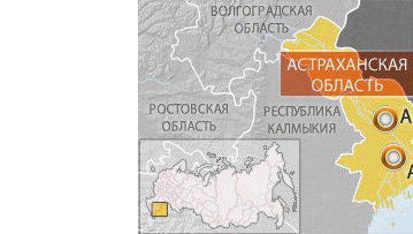 Полигон Ашулук в Астраханской области