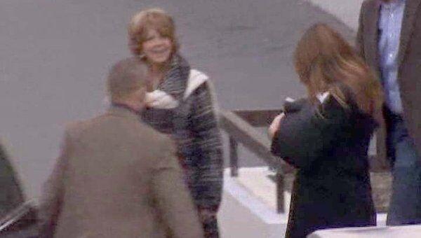 Новорожденную дочь Саркози выписали из роддома в тайне от СМИ
