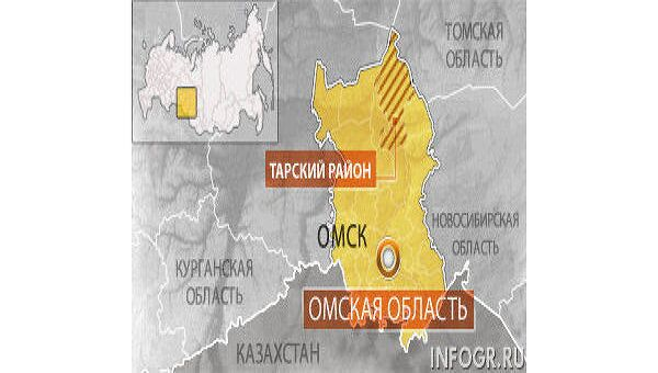 Вертолет Ми-8 потерпел катастрофу в Омской области