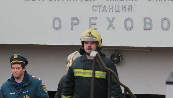 Восстановление работы станции Орехово после возгорания